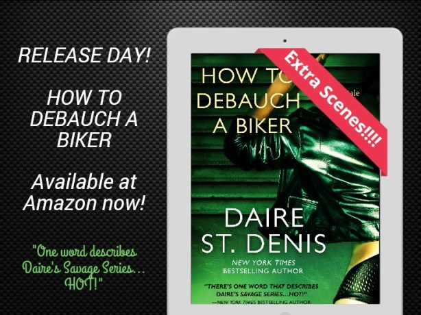 How to Debauch Release Day