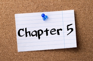 Chapter 5 - Teared Note Paper Pinned On Bulletin Board